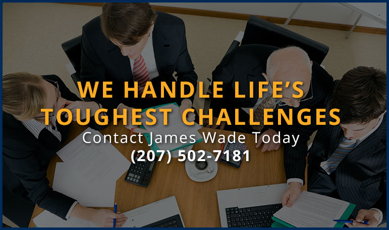 The Law Office of Portland, ME attorney James D Wade